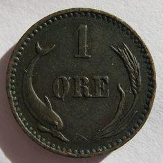 Denemarken 1 øre 1891
