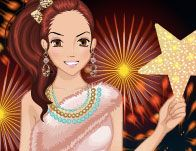 Blissful New Year Dressup