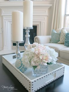 Refreshing Coffee Table Decor