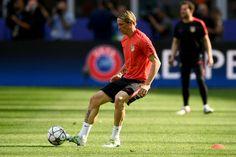 En lo mismo anda el pelao Torres, a favor del Atlético de Madrid: UEFA Champions League Finale (2016).