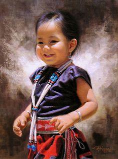 """Daddy's Girl"" -- Alfredo Rodriguez (1954-- American)"