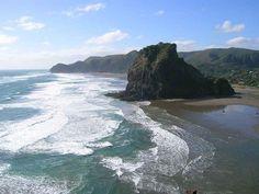 love piha beach!