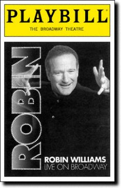 Cover of the Playbill booklet for 2002 Live on Broadway