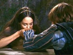 """Juliet: """"Good night, good night! As sweet repose and rest Come to thy heart as that within my breast."""" - 1968 Franco Zeffirelli Romeo & Juliet"""