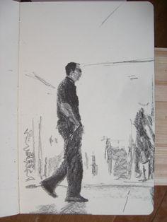Moleskine 3 #126 graphite pencil drawing