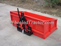 Tractor Tipping transport box details: Great for general purpose duties around the farm and lifestyle block. This bucket from the center of the sides Tractor Drawbar, Tractor Seats, John Deere Tractors, Tractor Loader, 3 Point Tractor Attachments, Garden Tractor Attachments, Small Tractors, Compact Tractors, Steel Fence Panels