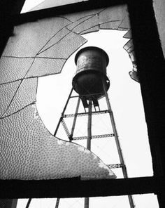 Packard water tower - Just something so fascinating about these structures, they seem so apart from everything around them