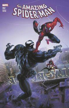 Venom, Spiderman and the Red Goblin.