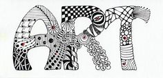 Zentangle I have been doing this my entire life but never realized it was an Art Form or had a name.