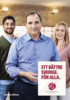 Election Poster Valaffisch Socialdemokraterna (Sweden) 2014