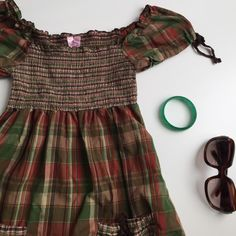 Plaid Baby Doll Top † small † preloved; good condition  ✗ NO trades ✗ NO lowballing ✓  open to reasonable offers ✓  ask me to BUNDLE! Tops