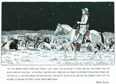 CATTLE DRIVE V - NIGHT HERDING  Hey folks,  Just a reminder that this week's Cowboy Lore & Legend is out at the blog.  Be sure to check it out and all the other updates as well  http://stanlyndeauthor.com/?page_id=2903