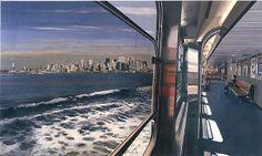 """View of Manhattan from Staten Island Ferry"", 2008"