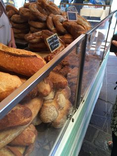Bread Stall, Sunday Market, Annecy, France