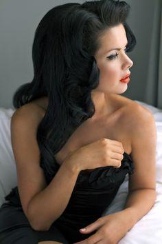 Hair and makeup artist Lucia Caldarelli, Photographer Laura Nerina Andrau, Model, Alicia Alexander