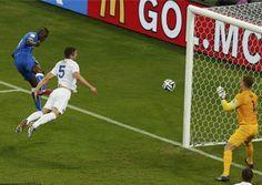 意大利2-1英格兰 巴神头槌破门定胜局