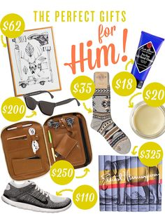 Holiday Gift Guide: Him