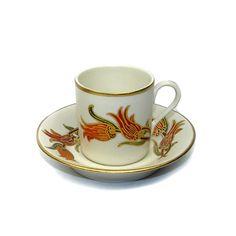 Hand made Turkish coffee cup