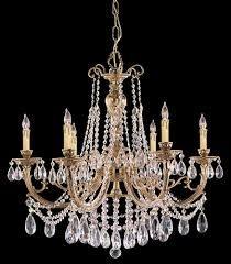 Výsledek obrázku pro chandelier crystal brass