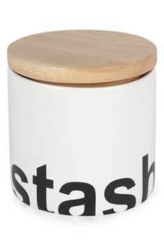 Core Home 'Bold Collection - Stash' Small Ceramic Storage Canister