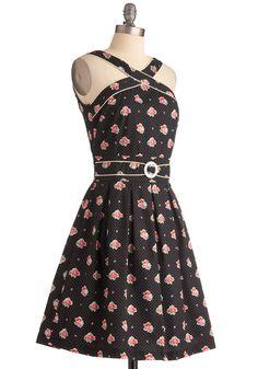 To Bloom It May Concern Dress   Mod Retro Vintage Dresses   ModCloth.com