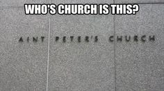 funny church signs - Google Search