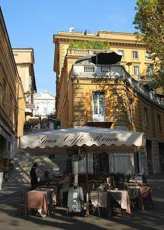 Dolce vita, Rome, Italy.
