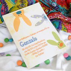 Invitación Gonzalo | Punto & Papel - Tarjetería social | Papelería comercial | Artículos de Escritorio | Regalos | Línea Infantil.