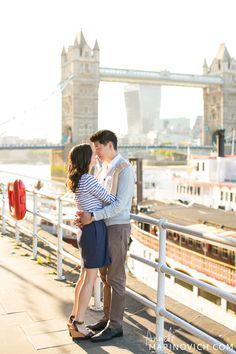 """London-Couple-Shoot-at-sunset"""