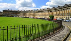 Do you know your Jane Austen? Royal Crescent, Bath, England