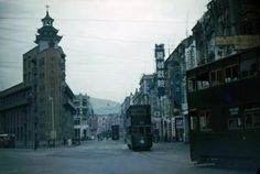 Views along the tram line in the 1950s | Gwulo: Old Hong Kong