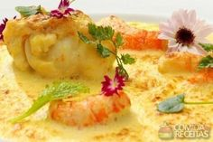 Receita de Gratin de lagosta e lagostim em receitas de crustaceos, veja essa e outras receitas aqui!
