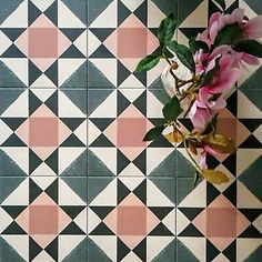 Wall And Floor Tiles, Wall Tiles, Victorian Tiles, Victorian Flooring, Stair Stickers, Tile Patterns, Floor Patterns, Tile Countertops, Geometric Tiles