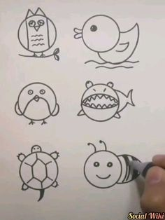 Lovely Drawings you can teach your kids! 😉 Drawings Kids Lovely teach is part of Easy drawings - Projects For Kids, Diy For Kids, Art Projects, Crafts For Kids, Diy And Crafts, Arts And Crafts, Drawing For Kids, Drawing Ideas, Learn Drawing