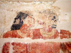 Mastaba of Niankhkhum and Khnumhotep embrace - History of homosexuality