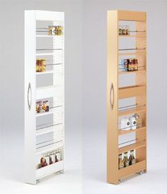 Kitchen Storage Ideas For Small Spaces Kitchen Storage Ideas DIY diy furniture . - Kitchen Storage Ideas For Small Spaces Kitchen Storage Ideas DIY diy furniture small spaces Ideas - Diy Kitchen Storage, Kitchen Organization, Kitchen Pantry, Wall Pantry, Pantry Room, Organization Ideas, Kitchen Cabinets, Kitchen Decor, Kitchen Shelves