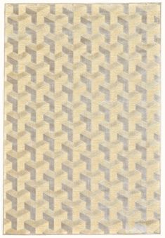 by Feizy Saphir Zam Rug - Cream / Silver - Room Envy Silver Room, Affordable Area Rugs, Wooden Pattern, Fluffy Rug, Rug Size Guide, Machine Made Rugs, Discount Rugs, Transitional Decor, Burke Decor