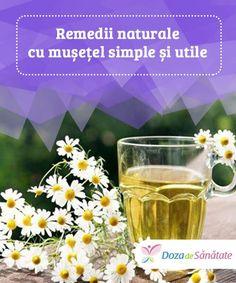 Remedii naturale cu mușețel simple și utile. Deși probabil obișnuiești să bei ceai de mușețel, te poți bucura de beneficiile sale și prin aplicarea sa externă sau prin folosirea uleiului esențial din aceeași plantă. Troubles Digestifs, Shot Glass, Herbalism, Alcoholic Drinks, Health Fitness, Ceux Ci, Tableware, Herbal Tea, Food