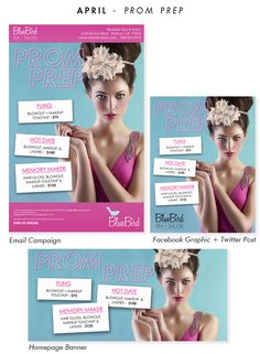 Countdown to Prom. Is Your Salon Prepared for Prom? We are! Ready-To-Wear Salon Marketing Campaigns from BeautyMark Marketing #salonadvertising #salonmarketing #salonpromotions #emailmarketing