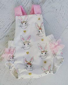 Best 12 US Baby Girls Bunny Rabbit Summer Bib Romper Jumpsuit Bodysuit Clothes Outfits Easter Outfit For Girls, Girls Easter Dresses, Baby Girl Dresses, Baby Dress, Baby Girls, Baby Bunny Outfit, Easter Dresses For Toddlers, Rabbit Baby, Cute Baby Clothes