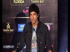 Farhan Akhtar at pre IIFA Awards 2014 press conference.