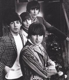 The Beatles- John Paul Ringo and George