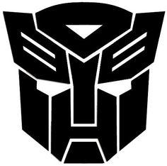 Transformers Autobots Symbol vinyl-ideas