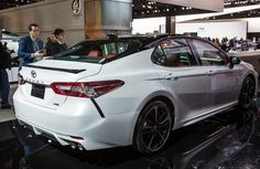 2018 Toyota Camry Se The Redesigned Rides On S Brand New Tnga Platform That Underpins Prius As Well C Hr