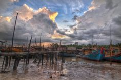 Kuala Sepetang , Taiping , Perak Taiping, Landscape Photography, Singapore, Paradise, Road Trip, Scenery, Asia, Clouds, Spaces