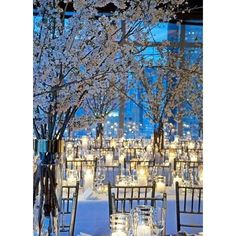 50 Silver Winter Wedding Ideas for Your Big Day ❤ liked on Polyvore featuring wedding