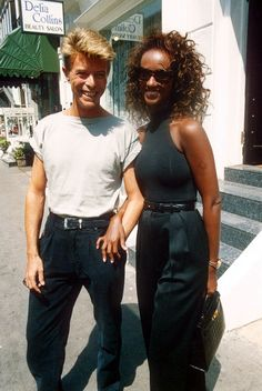 David Bowie and Iman Iman Bowie, Iman And David Bowie, 21st Wedding Anniversary, I Carry Your Heart, The Thin White Duke, Thing 1, Ziggy Stardust, David Jones, Bright Stars