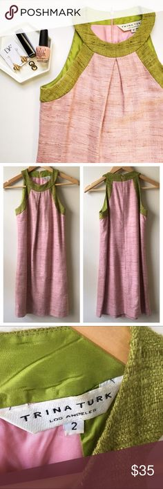✨HP✨Trina Turk Tweed Shift Dress His dress is simply gorgeous. The colors, the material, everything is lovely. In great condition but will need to be dry cleaned.   Earrings also available in my closet!☝🏻️  🚫 No Trades/🅿️🅿️ ✨ 100% Authentic 💵 Offers Welcome 💰 Bundle Discount 📬 Ships in 1-2 Days Trina Turk Dresses Mini