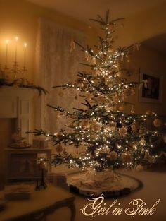 Feminine Beautiful Christmas Tree