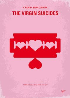 The Digital Art - No297 My The Virgin Suicides Minimal Movie Poster by Chungkong Art